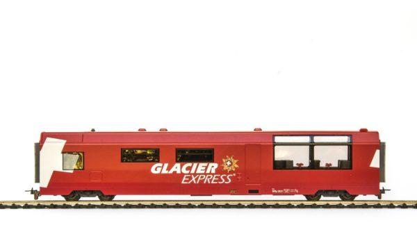 Bemo 3289 131 RhB Glacier Express Restaurant Car