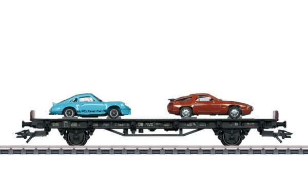 Märklin 45054 70 Years of Porsche Sports Cars 4 Auto Transport Car