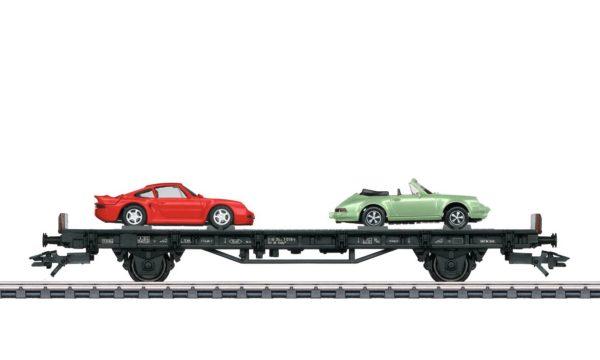 Märklin 45055 70 Years of Porsche Sports Cars 5 Auto Transport Car