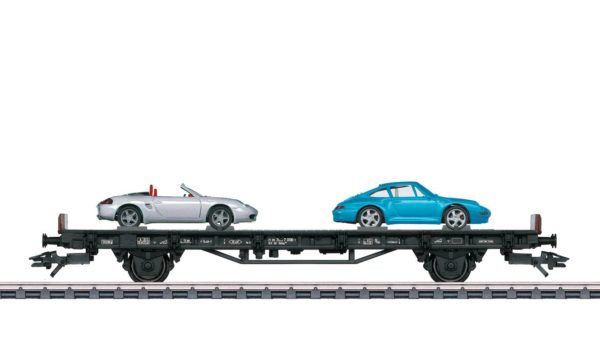 Märklin 45056 70 Years of Porsche Sports Cars 6 Auto Transport Car