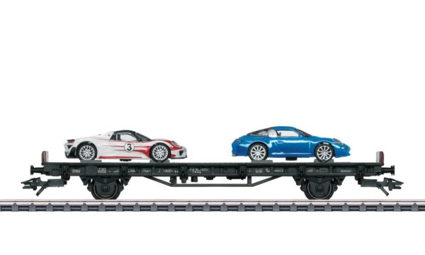 Märklin 45058 70 Years of Porsche Sports Cars 8 Auto Transport Car