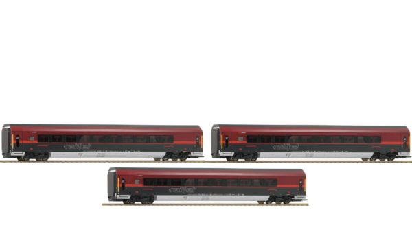 Roco 64193 3 Piece ÖBB Railjet Set