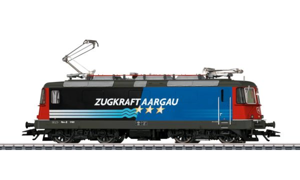 Märklin 37306 Class Re 4/4 II Zugkraft Aargau Electric Locomotive