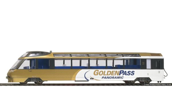 Bemo 3288 313 MOB Arst GoldenPass Panorama Control Car 1st Class