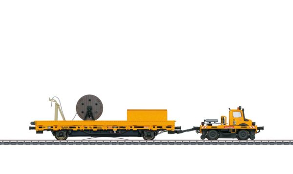Märklin 39940 Two-Way Unimog with Catenary Installation Car