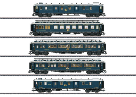 Märklin 42790 Simplon Orient Express Train Passenger Car Set 1