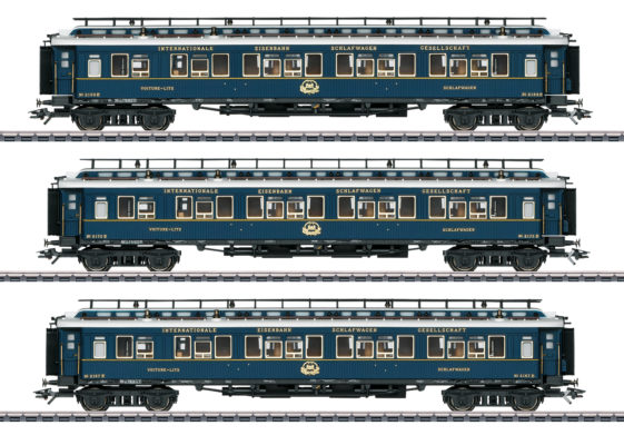 Märklin 42791 Simplon Orient Express Train Passenger Car Set 2