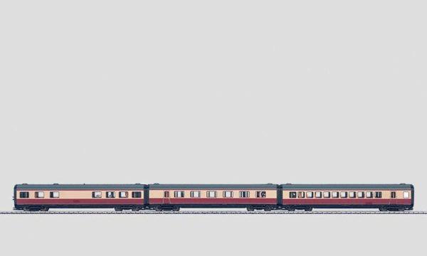 Märklin 43115 TEE Intermediate Passenger Car Set