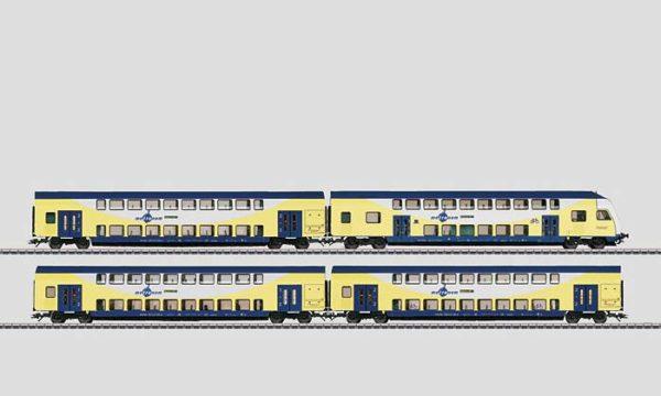 Märklin 43475 Metronom Bi-level Passenger Car Set