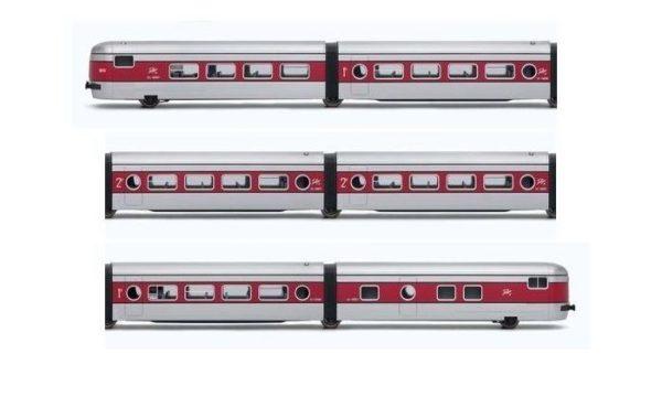Electrotren E3341 RENFE Talgo III 6-Unit Passenger Car Set