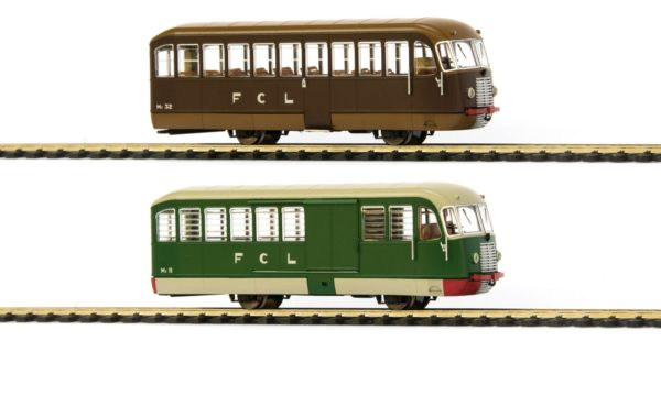 Oskar E1000 FCL Emmina M1 Railbus Set