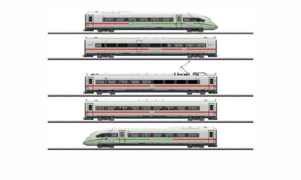 Märklin 39716 ICE 4 Powered Railcar with Green Stripe
