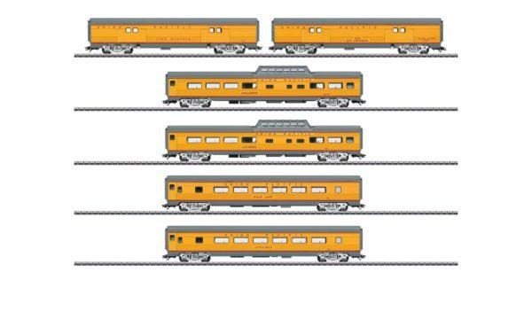 Märklin 43617 Union Pacific Passenger Car Set