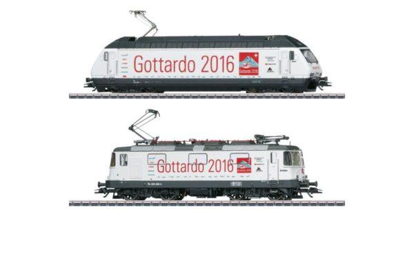 Märklin 31016 Class 460 and Re 4/4 II Electric Locomotive Double Set