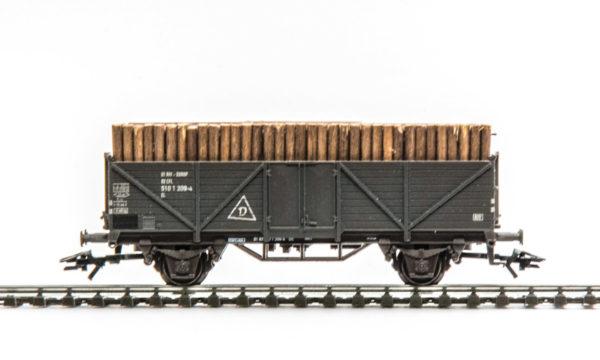 Märklin 4582 Open Goods Wagon with Wood Load