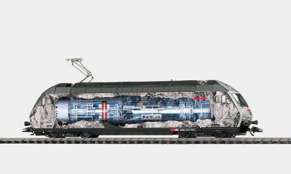 Märklin 39604 SBB Re 460 Tunnelbohr Electric Locomotive