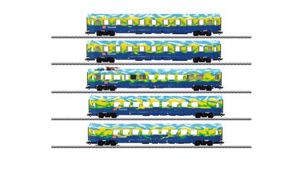 Märklin 43878 Touristik Passenger Car Set