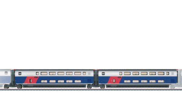 Märklin 43423 Add-On Car Set 1 for the TGV Euroduplex