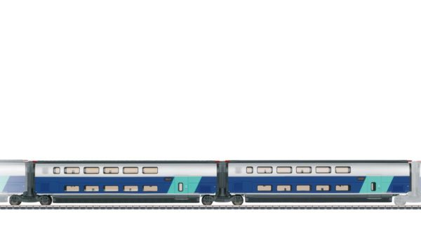 Märklin 43433 Add-On Car Set 2 for the TGV Euroduplex