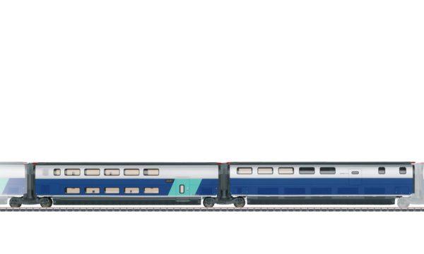 Märklin 43443 Add-On Car Set 3 for the TGV Euroduplex