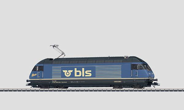 Märklin 37461 BLS Re 465 Electric Locomotive