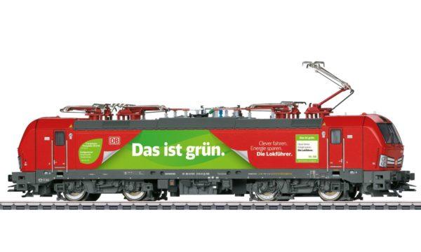 Märklin 39197 Das ist Grün Vectron Electric Locomotive
