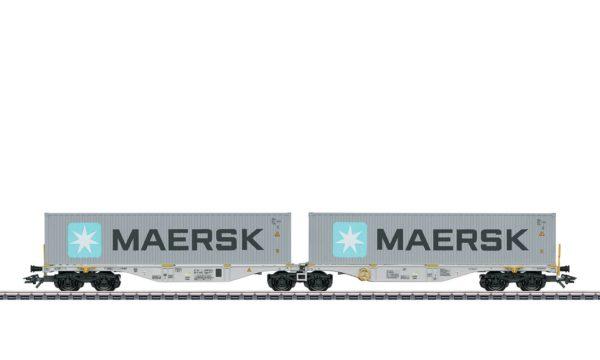Märklin 47803 Maersk Double Container Transport Car
