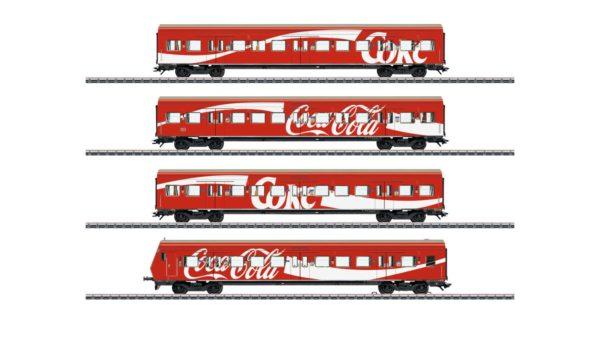 Märklin 43890 Coca-Cola S-Bahn Passenger Car Set