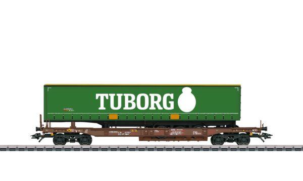 Märklin 47113 Tuborg Deep Well Flat Car