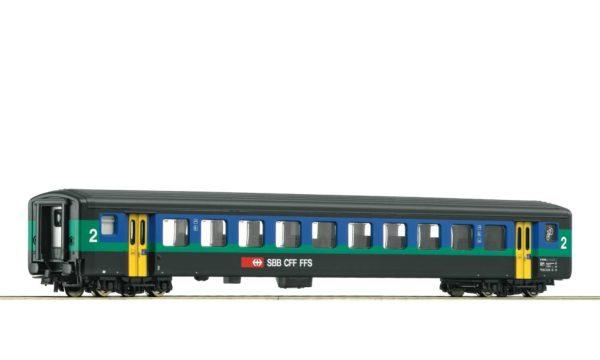 Roco 74566 SBB Papagei 2nd Class Passenger Car