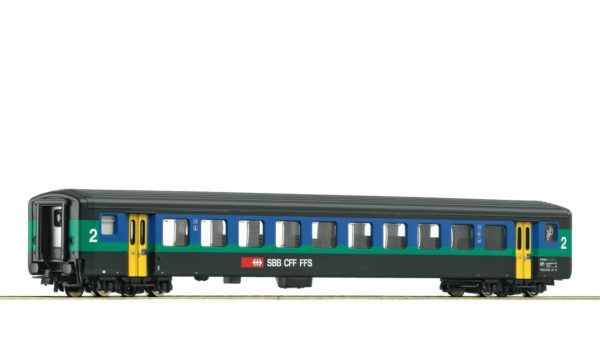 Roco 74567 SBB Papagei 2nd Class Passenger Car