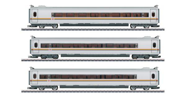Märklin 43739 Rainbow DB ICE 3 Add-on Car Set